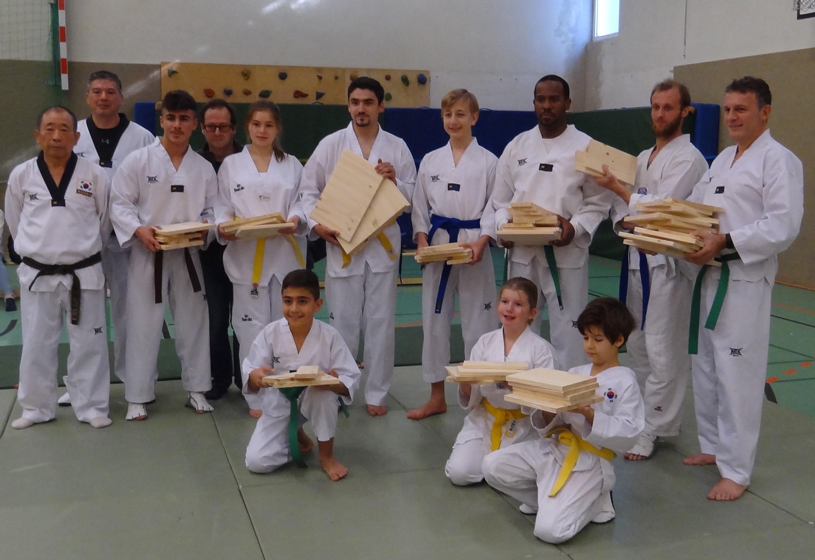 Taekwondo Gruppe